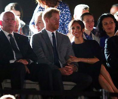Harry i Meghan na ceremonii otwarcia Invictus Games. Cały czas trzymali się za ręce