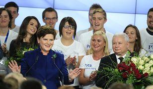 Wysokie poparcie dla PiS. W Sejmie cztery partie