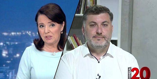 "Danuta Holecka i Artur Dziambora w ""Minęła 20"" TVP Info"
