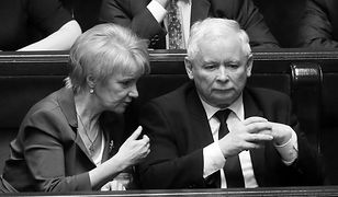 Jolanta Szczypińska pomagała Jarosławowi Kaczyńskiemu przy tworzeniu PC, a później PiS