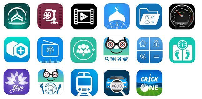 ikony szkodliwych aplikacji (wandera.com)