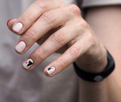 Geometric nails są obecnie jednym z najbardziej modnych wzorów sezonu.