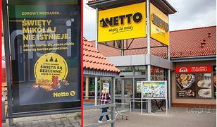 Sieć sklepów Netto postawiła w tym roku na kontrowersyjną reklamę świąteczną.