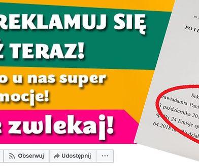 Firma, która oferuje przestrzenie reklamowe, to 24 Emisje. Została zarejestrowana w ubiegłym roku we Wrocławiu.