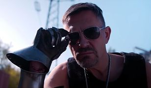 Krzysztof Ibisz jako Keanu Reeves, czyli Johnny Silverhand z Cyberpunka 2077.