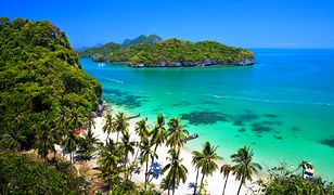 W Tajlandii dominują iście rajskie plaże z białym piaskiem
