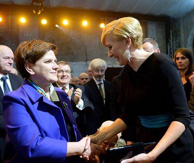 Agata Duda i Beata Szydło