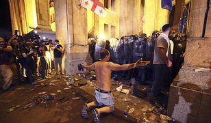 Twarda reakcja obywateli na przyjazd przedstawiciela Rosji.