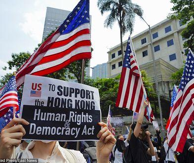 Hongkong: 14 weekend protestów. Demonstranci proszą o pomoc Donalda Trumpa