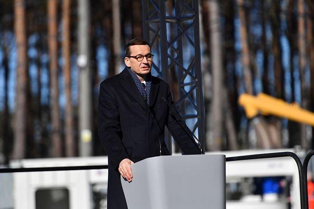 Świnoujście. Premier Mateusz Morawiecki zainaugurował inwestycję pod Świną