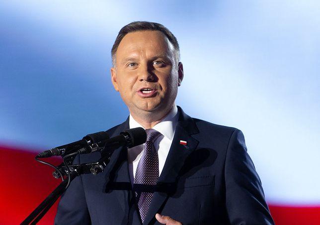 Susza. Prezydent Andrzej Duda apeluje o racjonalne gospodarowanie wodą