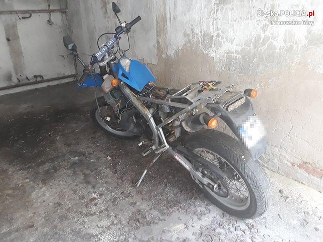 Tarnowskie Góry. Policjanci odzyskali m.in. dwa motocykle.