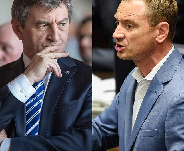 Marszałek Sejmu Marek Kuchciński i jego rodzinne loty. Sławomir Nitras nie chce odpuścić politykowi PiS