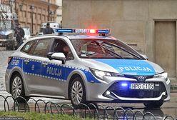Policyjny pościg na Mazowszu. Padły strzały, funkcjonariusz został ranny