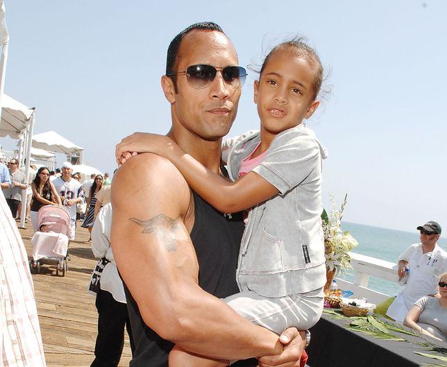 Dwayne Johnson i Simone w 2007 r. Córka Rocka niedługo skończy 19 lat