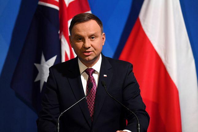 Prezydent Andrzej Duda o zakupie australijskich fregat: żaden temat nie jest zamknięty