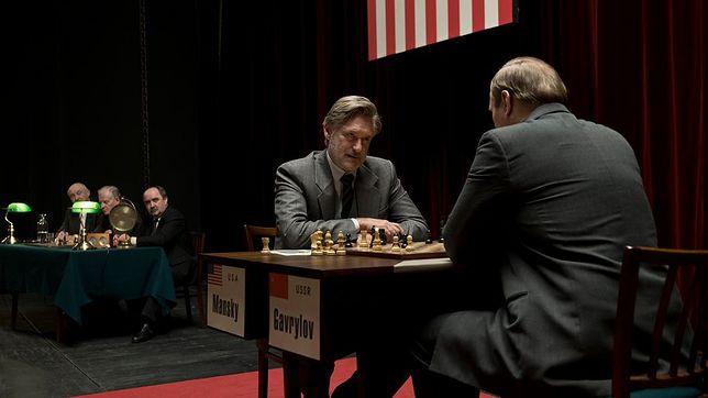 "Bill Pullman jako Joshua Mansky w filmie ""Ukryta gra""."