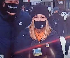 Turysta wszedł na wizję Polsat News. Powiedział, co sądzi o PiS