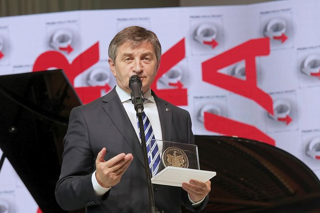 Marszałek Sejmu Marek Kuchciński chwali się rekordowym poparciem dla niższej izby parlamentu