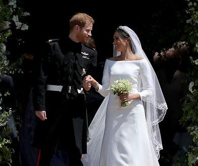 Książę Harry i Meghan Markle pobrali się w maju 2018 roku