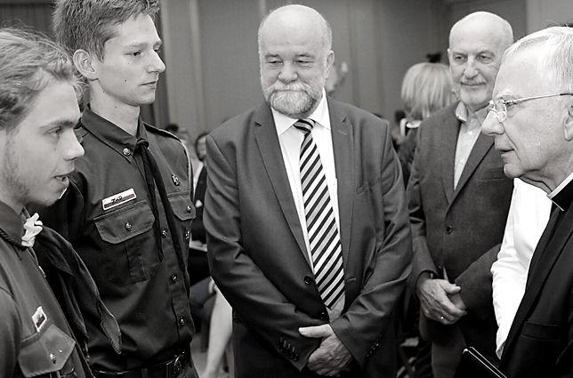 Twórca zakopiańskiej Solidarności nie żyje. Jerzy Zacharko miał 70 lat (na zdj. w środku)