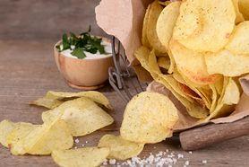 Chipsy ziemniaczane o smaki soli