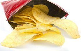 Chipsy ziemniaczane o smaku serowym