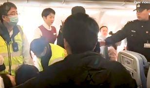 Zamieszanie na pokładzie samolotu Air China.