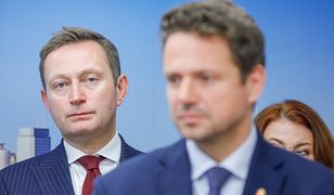 Paweł Rabiej z prezydentem stolicy Rafałem Trzaskowskim