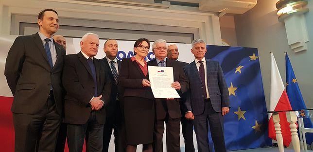 """Sygnatariusze deklaracji """"Koalicja Europejska dla Polski"""""""