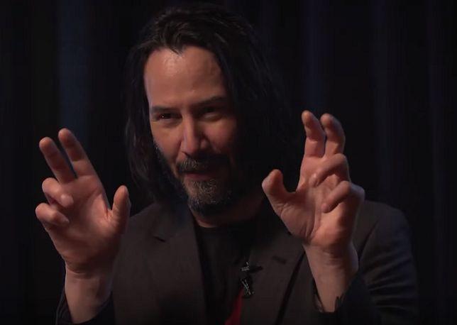 "Keanu Reeves w samych superlatywach mówi o ""Cyberpunk 2077"""