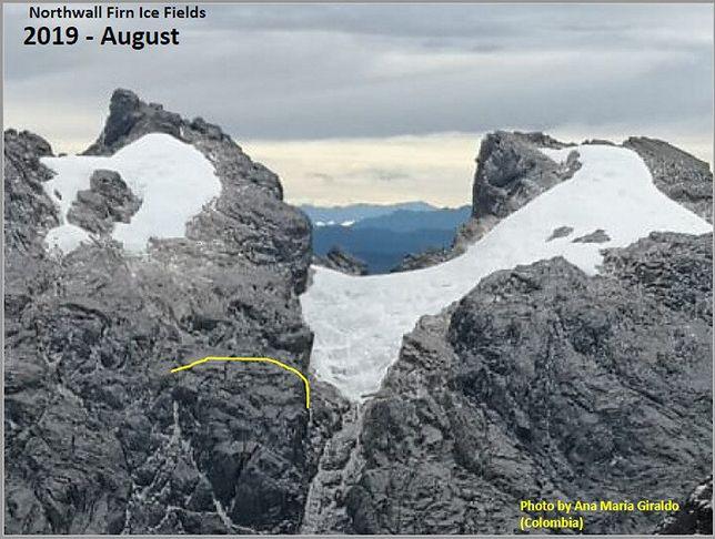 W ciągu 9 lat lodowiec stracił 75 proc. powierzchni