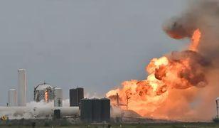 Eksplozja prototypu rakiety Starship. Kolejna nieudana próba SpaceX