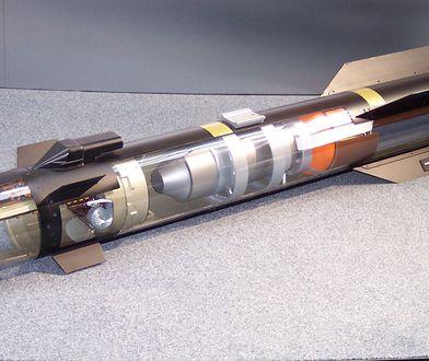 Przekrój rakiety Hellfire