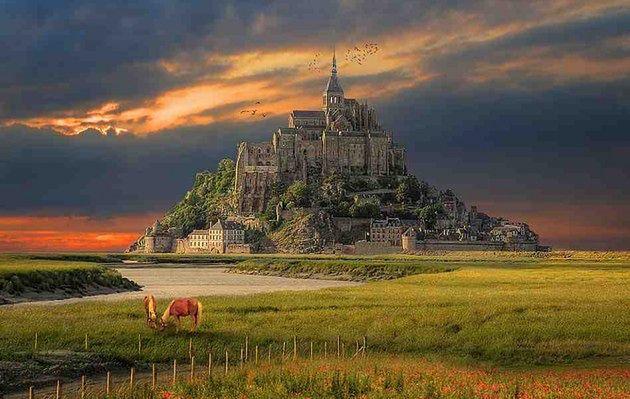 Mont-Saint-Michel, Francja