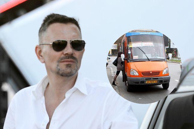 Krzysztof Ibisz wybrał marszrutkę. Miejscowi jej nie znoszą, turyści kochają