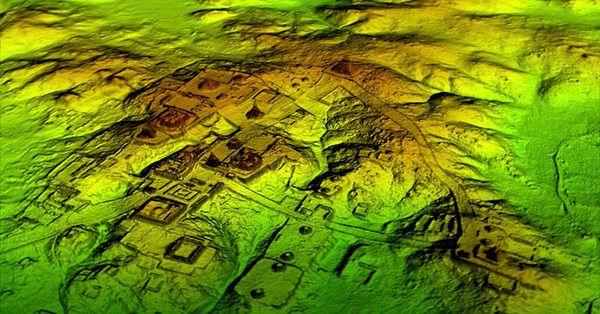 Naukowcy odkryli gigantyczne miasto Majów. Mogło w nim być ponad 60 tys. budynków