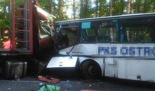 Tragedia pod Ostródą. Dwie osoby nie żyją