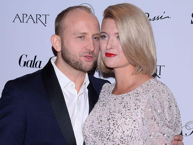 Borys Szyc i Justyna Szyc-Nagłowska
