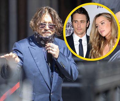 Johnny Depp mówił w sądzie o relacji Heard z Franco
