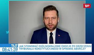 Andrzej Duda przepchnie ustawę ws. aborcji? Kamil Bortniczuk liczy na opozycję