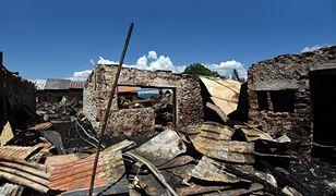 Nowa Biała. Premier Słowacji Eduard Heger deklaruje pomoc po pożarze