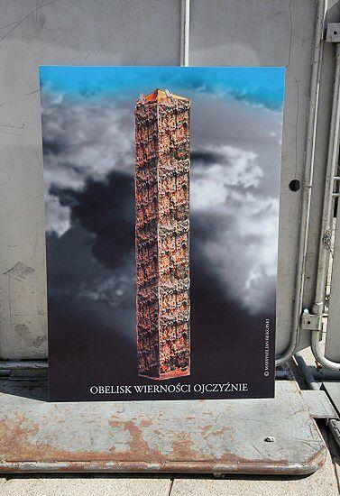 Taki obelisk może stanąć pod Pałacem - zobacz zdjęcia