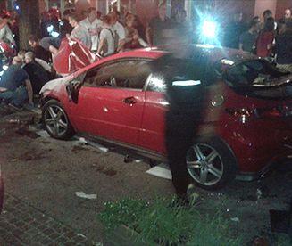 Kierowca przejechał 22 osoby w Sopocie