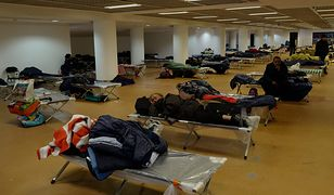 Pałac Festiwalowy w Cannes został zamieniony w noclegownię dla bezdomnych