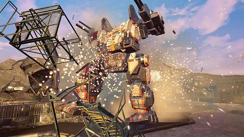 Podczas gry w MechWarrior 5 niejeden przeciwnik eksploduje