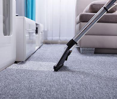 Doprowadzisz do lśnienia dywany i wykładziny