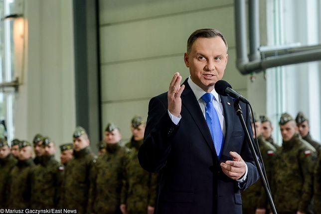 Ustawa degradacyjna. Andrzej Duda podjął decyzję