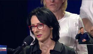 """Uczestniczka debaty w Końskich zabiera głos. """"Nie byłam podstawiona, moje pytanie było niewygodne"""""""