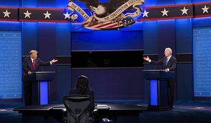 Wybory w USA. Debata prezydencka Donald Trump - Joe Biden. Koronawirus, 15 dolarów za godzinę i pieniądze z Rosji